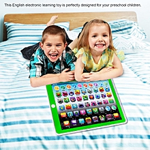 Kids Children Tablet Pad Electronic Preschool English Learning Numbers Letters Teach Toy