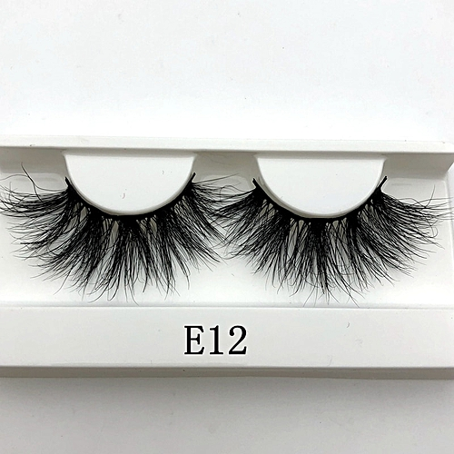 0a8c4d818b1 Generic Mikiwi 25mm False Eyelashes Wholesale Thick Strip 25mm 3D Mink  Lashes Custom Packaging Label Makeup Dramatic Long Mink Lashes(C 0.15mm)