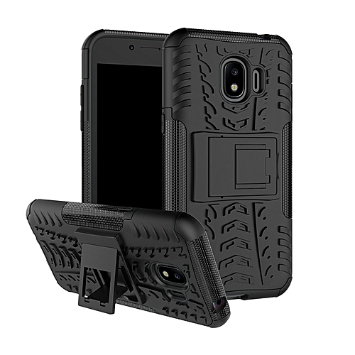 new product 10889 a4391 For Samsung Galaxy J2 2018 Case Heavy Duty Armor Hard PC Soft Rubber Stand  Phone Cover Galaxy J2 Pro 2018 SM-J250F SM-J250F