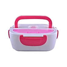 Electric Lunch Box - Pink & White