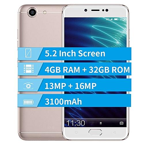 S10 Lite 5.2-inch (4GB, 32GB ROM) Android 7.1, 3100mAh, 13MP+16MP, Dual Sim 4G LTE Smartphone - Gold