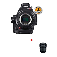 EOS C100 - Digital Video Camera MARK I + 18-135mm Lens - Black
