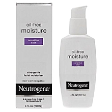 Oil-Free Moisture Ultra-Gentle Facial Moisturizer for Sensitive Skin - 118ml