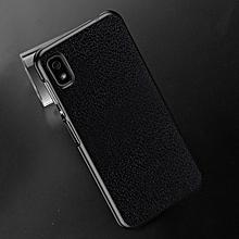 OCUBE Lichi Texture PC Protective Back Case for Elephone A4 / A4 Pro(Black)
