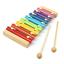 8 Notes Musical Xylophone Piano Wooden Instrument Kids Education Baby Child Toy
