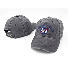NASA I Need My Space Baseball Cap Adjustable Snapback Hat For Men Women - Gray