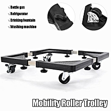 HEAVY APPLIANCE Wheels Mobility Roller Trolley Washing Machine Stand Fridge Base 560-800mm