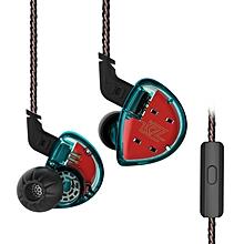 KZ ES4 HiFi Hybrid In-ear Earphone Wired Earbuds with Mic - LIGHT CYAN