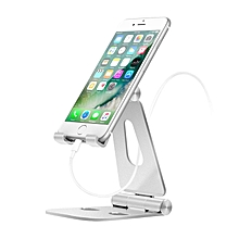 AHHROOU Universal Mobile Phone Holder Stand Aluminium Alloy Desk Holder For Phone Charging Stand Cradle Mount For iPhone Support LIMEI