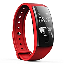 QS90 Wristband Heart Rate Blood Pressure Monitoring Multiple Modes Sports Smart Watch For IOS And Android Phone BDZ