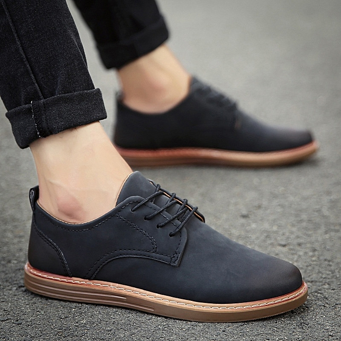 753393e67a934 New Stylish Summer Casual Leather Shoes for Men