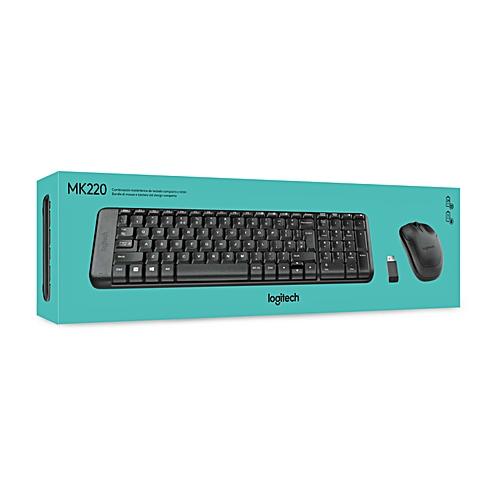 f04ec26de99 Logitech MK220 - Mouse & Keyboard Wireless Combo - Black @ Best ...