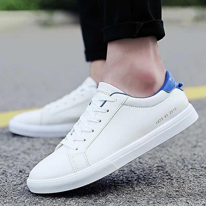 ac0e987505 ... White Shoes Walking Sneakers-blue · Mens Canvas Shoes Men Flats  Breathable Sneakers Fashion Brand Flat Shoes Lace-up Mens Leisure