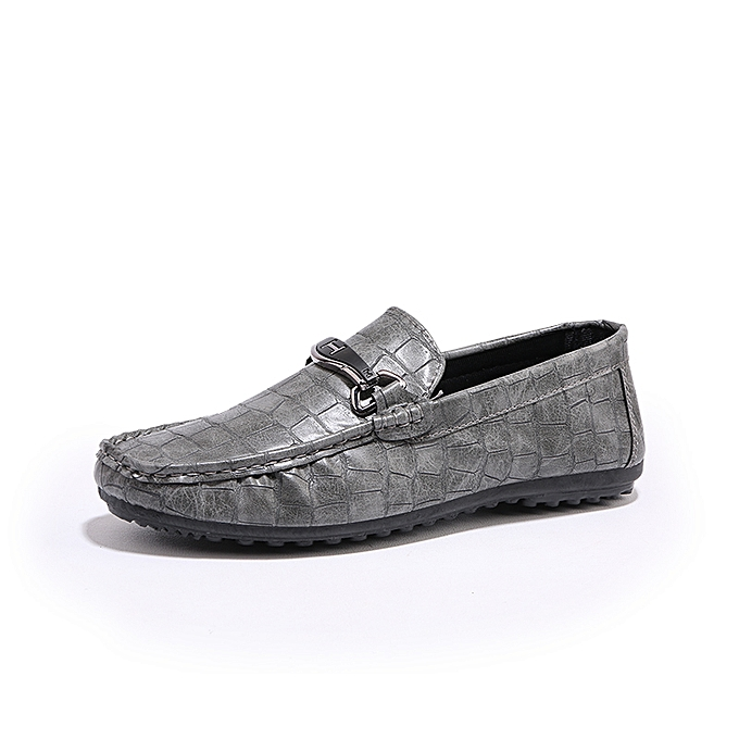460282943d3 Fashion Crocodile Pattern Loafers Men Casual Driving Shoes Moccasins ...