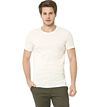 Beige Fashionable T-Shirt