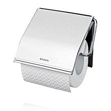 414589 - Toilet Roll Holder - Brilliant Steel