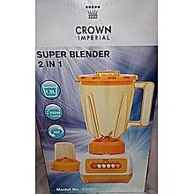 2 in1 Juice Blender with Grinder 1.5 Litres-350W