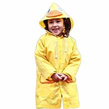 a7ad63e425c Eleganya Waterproof Kids Boys Girls Funny Raincoat Children Cartoon Rain  Coat Jacket Raincoat Suit 3-