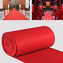 10m VIP Red Carpet Runner Party Decoration Wedding Aisle Floor Disposable