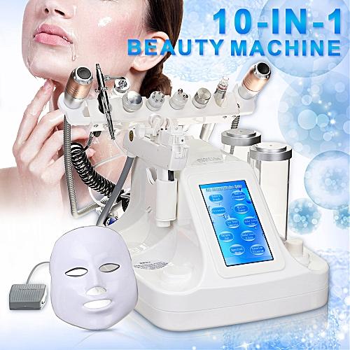 10 in 1 Oxygen Jet Water Peel Dermabrasion Microdermabrasion Hydra Skin  Machine