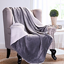 KCASA KC-FB52 Blankets Cozy Warm Plush Blanket Super Soft Blanket on the Bed Home Travel Throws for  200 x 230 cm
