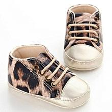 bluerdream-Baby Infant Kids Girl Boys Soft Sole Crib Toddler Newborn Shoes KH/11-Khaki