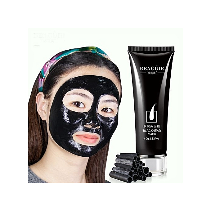 ... Technologg Beauty Black Mud Deep Cleansing Purifying Peel Off Facail Face Mask -black ...