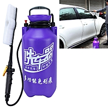 11L Portable Multi-function Car Auto Wash Brush Washinghine with High-pressure Retractable Long Handle Water Flow Switch and Bottle
