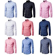 Men Official Shirts 9 Pack - Slim fit - 100% Cotton.