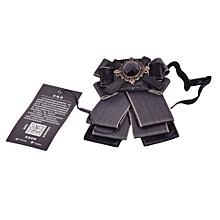 Brooch Butterfly Ties -Black