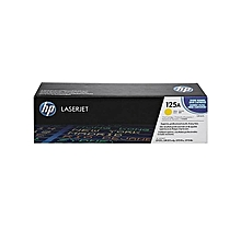 125A LaserJet Toner Cartridge (CB542A) - Yellow