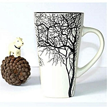 Latte mug -White Branch
