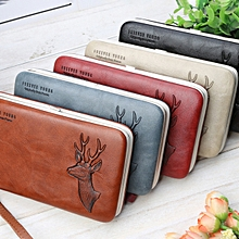 Baellerry Women Faux Leather Multifunctional Card Holder Phone Bag
