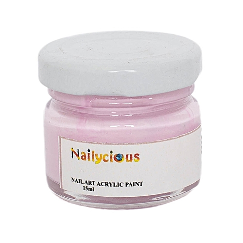 Buy Nailycious Acrylic Paint For Nail Art Pastel Pink Best Price