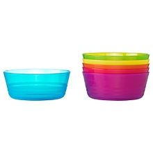 Baby Bowl, 6 Assorted Colours