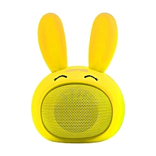 BUNNY -White Promate Kids Bluetooth Speaker, Portable Wireless Bluetooth V4.1 Speaker with HD Sound Quality, Hands-free call function and Cute Bunny Design for Bluetooth Enabled Devices