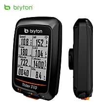 Bryton GPS Cycling Computer Rechargeable IPX7 Water Resistant Bike Cycling Cycle Bicycle GPS Computer Odometer with Mount