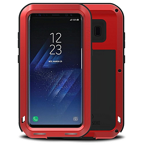 competitive price 19dca 2db2a Samsung Galaxy S8 Plus Waterproof Case, Shockproof Snowproof Dustproof  Durable Aluminum Metal Heavy Duty Full-body Protection Case Cover for  Samsung ...
