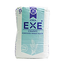 Exe Chapati Fortified Wheat Flour 2 KG net weight.