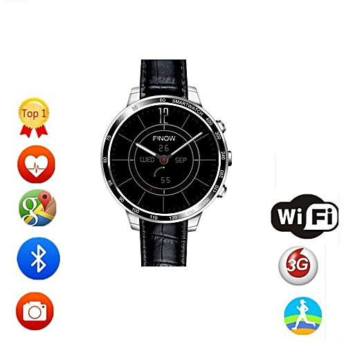 7755ea5c4 Smartwatch Q7 Smart Watch With Camera Support 32GB TF Card 3G Wifi GPS  Bluetooth Heart Rate Smartwatch For Android IOS - Silver