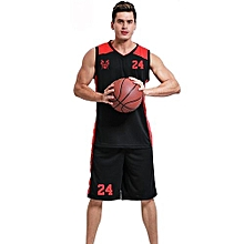 Newest Men's Customized Blank Basketball Team Sports Jersey Uniform-Black(JLS-713)