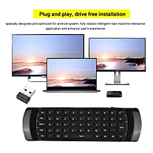 3D 2.4GHz Wireless Keyboard Air Mouse Remote Control For Android TV BOX / Smart TV