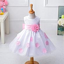 Grace Girl's Princess Dress Costume Flower Girl Dress Children Petal Dress