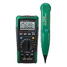 MASTECH MS8236 Auto Ranging Digital Multimeter With Cable Track Tester