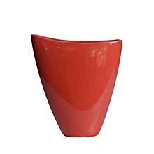 Abstract Bowl - Medium - Red