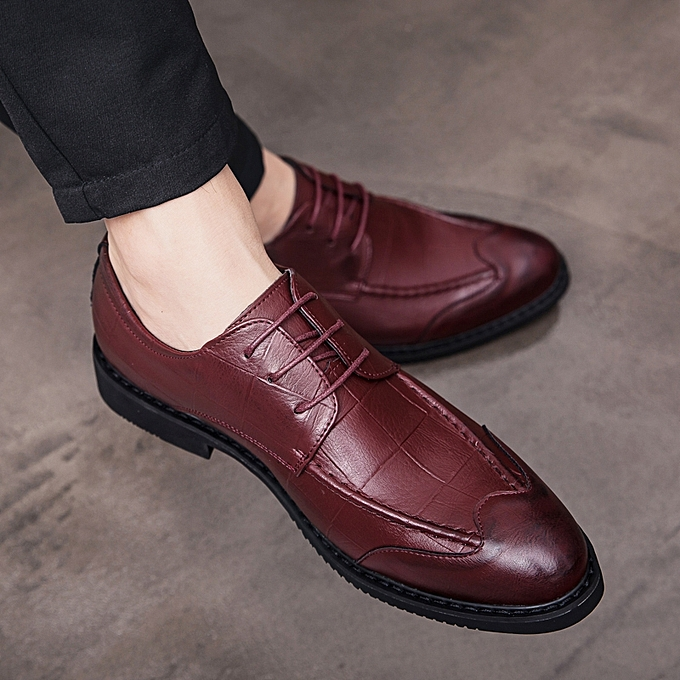 Generic Eur 38 43 Handmade Leather Shoes Men Formal Shoes European