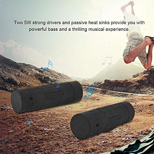 Portable Speaker Portable Outdoor Bluetooth Speaker Waterproof Wireless Riding TF Card Mobile Speaker