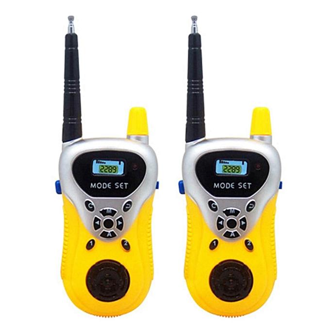 9ddb7a5ba ... 2Pcs Portable High Simulation Battery-opwered Walkie Talkie Two-Way  Radio Walkie Talkies for ...