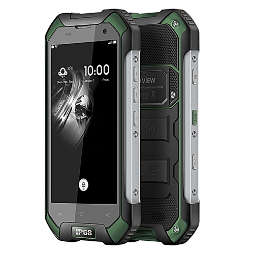 BV6000S Triple-Proofing Phone, 2GB+16GB, IP68 Waterproof Dustproof Shockproof, 4.7 inch Android 7.0 MTK6737T Quad-core 1.5GHz, Network: 4G(Army Green)