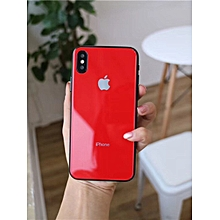 mikihome Anti-Explosion H Tempered Glass Screen Protector For IPHONE 8 red